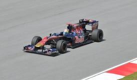 Scuderia Toro Rosso driver Sebastien Buemi Stock Photo