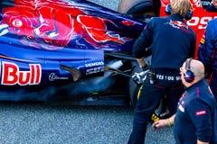 Scuderia Toro Rosso, Jean-Eric Vergne, 2013 Lizenzfreie Stockfotos