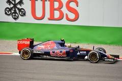 Scuderia Toro Rosso STR10 F1 driven by Carlos Sainz at Monza Royalty Free Stock Photo