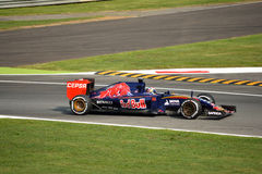 Scuderia Toro Rosso STR10 F1 driven by Max Verstappen at Monza Royalty Free Stock Images