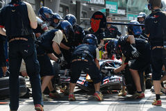 Scuderia Toro Rosso STR2 Team  Royalty Free Stock Photos
