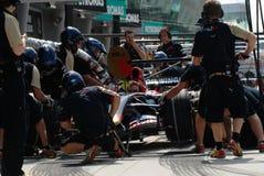 Scuderia Toro Rosso STR2 Team  Royalty Free Stock Photography