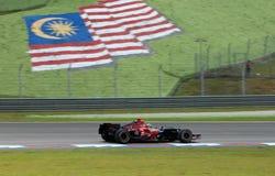 Scuderia Toro Rosso STR2 Vitantonio Liuzzi Italië F stock afbeeldingen