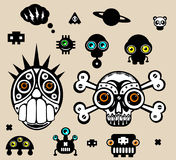 Scull Royalty Free Stock Images