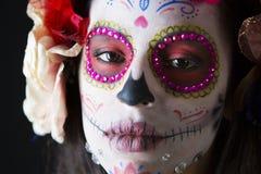Scull mexicano del caramelo Imágenes de archivo libres de regalías