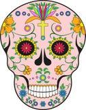 scull mexico Pop-artillustratie Stock Afbeelding