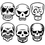 Scull tattoos Royalty Free Stock Photography