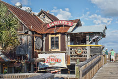 Sculleys Waterfront Restaurant Royalty Free Stock Images