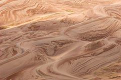 Sculpted Dunes Stock Images