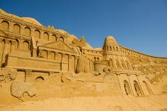 Sculpteur de sable Photos stock
