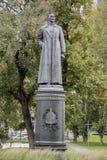 Sculptez Felix Dzerzhinsky en parc Muzeon, bronze Sculpteur Ye Vuchetich photographie stock libre de droits
