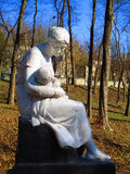 Sculptez la mère affectueuse, Kamenets Podolskiy, Ukraine Image libre de droits