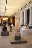 Sculptez le hall dans Victoria et Albert Museum, Londres, R-U Image libre de droits