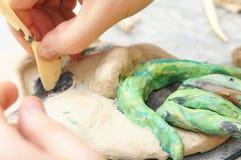 Τέχνη Sculpting Στοκ Εικόνες