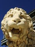 Sculptire av det Medici lejonet, sydlig fasad av Vorontsov slott, A royaltyfri foto