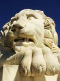 Sculptire av det Medici lejonet, sydlig fasad av Vorontsov slott, A fotografering för bildbyråer
