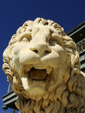Sculptire of Medici lion, southern facade of Vorontsov palace, A Royalty Free Stock Photo