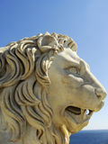 Sculptire of Medici lion, southern facade of Vorontsov palace, A Stock Photography