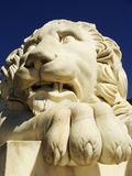 Sculptire of Medici lion, southern facade of Vorontsov palace, A Stock Image