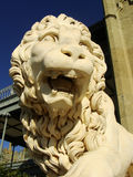 Sculptire of Medici lion, southern facade of Vorontsov palace, A Royalty Free Stock Photography