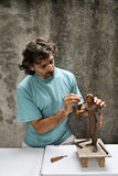 Sculptor Stock Photo