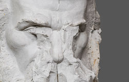 Sculptor carving. Royalty Free Stock Image