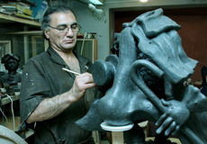 Sculptor Royalty Free Stock Image