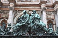 Sculptors in Venice. Stock Photos