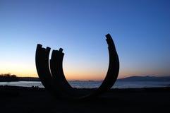 Sculptrue door Engelse baai Royalty-vrije Stock Foto's