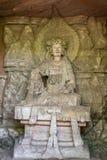 Sculptu de la piedra del dazu de Chongqing fotos de archivo libres de regalías
