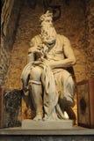 Sculptue de Mosè Fotos de archivo