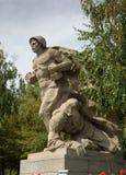 Sculptura Devoted to the heroism of the Soviet marines on Square of Heroes. Memorial complex Mamayev Kurgan in Volgograd Stock Images