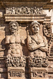 Sculptural decoration in arabian style, Palermo, Sicily, Italy Stock Photos