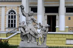 Sculptural group Laocoon in Odessa Stock Photo
