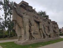 sculptural grupp Arkivfoton