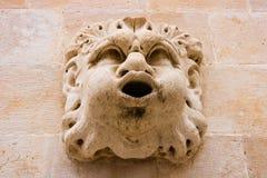 Sculptural wall decoration in Dubrovnik, Croatia.  stock images