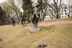 Sculptureï ¼ ŒHorse Στοκ Εικόνες