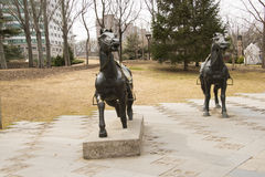Sculptureï ¼ ŒHorse Στοκ εικόνες με δικαίωμα ελεύθερης χρήσης