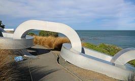 Sculpture à chaînes Photos libres de droits