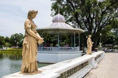 Sculpture à Coup-PA-dans le palais d'été Images stock