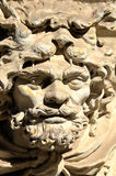 The sculpture. The stone sculpture in castle in Dresden (Germany Royalty Free Stock Photo