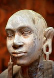Sculpture of an African woman Stock Photos