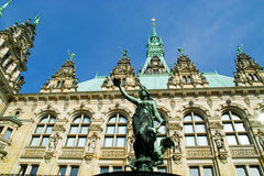 Sculpture against a palace. Image of sculpture against a palace Royalty Free Stock Photo
