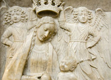 Sculpture from Amalfi St.Andrew cathedral Royalty Free Stock Image