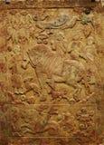Sculpture of ancient asia Stock Photos
