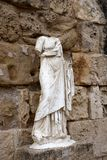Sculpture in Salamis Stock Photo