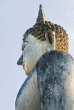 Sculpture of Ancient Buddha Stock Image