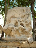 Sculpture. Ancient sculpture. Stone. Old. Monument in sunny day in marmaris Royalty Free Stock Photo