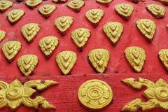This sculpture, ancient temples - Temple Thailand. Stock Photos