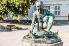 Sculpture Andemor in Stavanger Stock Photos